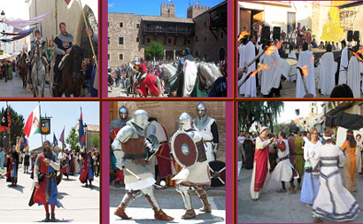 Fiestas medievales en el Camino del Cid