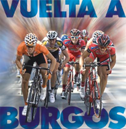 Imagen del cartel de la Vuelta Ciclista a Burgos