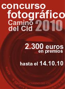 Imagen anuncio Concurso Fotográfico del Camino del Cid
