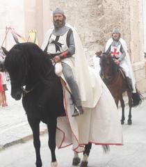 Jaime I toma las calles de Segorbe, en Castellón