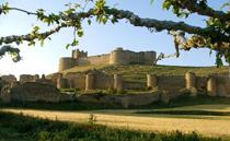 Castillo de la localidad soriana de Berlanga de Duero