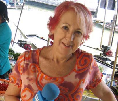 La periodista Rosa María Calaf, presidenta del IV Premio de Literatura de Viajes Camino del Cid