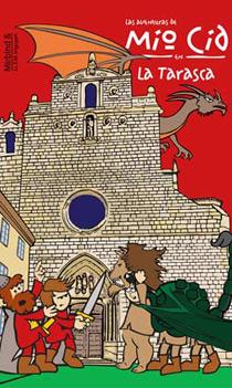 Imagen de la portada del cómic de Las aventuras de Mío Cid
