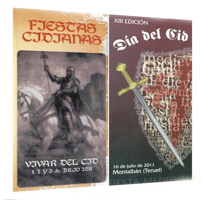 Vivar del Cid (Burgos) y Montalbán (Teruel) celebran en julio sus fiestas cidianas