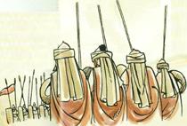 El Cid sale victorioso de la batalla de Alcocer, una de las más duras según el Cantar