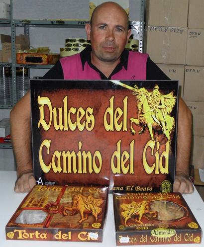 Imagen de Carlos París, el emprendedor del Burgo de Osma que ha lanzado una línea de dulces del Camino del Cid