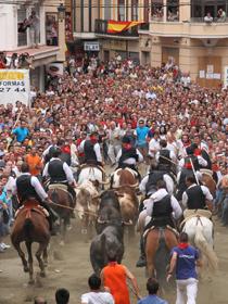 Espectacular imagen de la Entrada de Segorbe (Castellón)