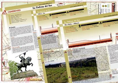 Imagen de la topoguía y mapas digitales de La Defensa del Sur