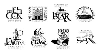 Nueva colección de los sellos de Alicante diseñados por Julián de Velasco