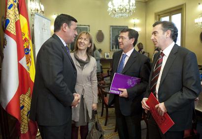 Cuatro presidentes unidos al mismo proyecto: el Camino del Cid