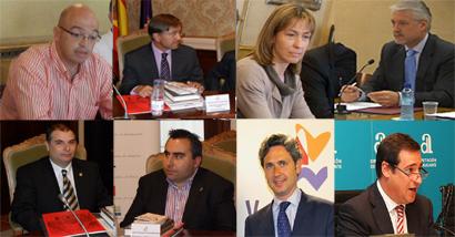 Estas son las personas que, durante los próximos años, gestionarán todos los temas relacionados con el Camino del Cid en sus respectivas diputaciones