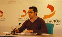 El diputado de Turismo de Guadalajara Jesús Parra comparece ante los medios de comunicación