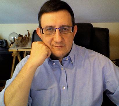 El diseñador e infografista Julián de Velasco