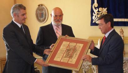 Un momento del acto de entrega del Premio Álvar Fáñez