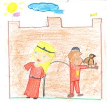 El Cid y Doña Jimena, vistos por Gadea Rueda, 7 años
