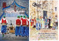 Imagen de los programas de las fiestas de moros y cristianos de Biar y Petrer