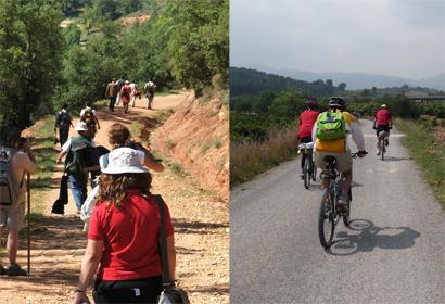 Tú eliges cómo recorrer el Camino del Cid: andando o en bici
