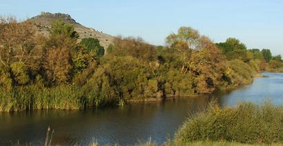 Vistas desde una de las Carreteras Singulares del Camino del Cid (Gormaz, en Soria)