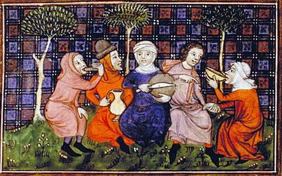 La gastronomía en la Edad Media estaba marcada por la diversidad culinaria y la influencia entre las tres culturas