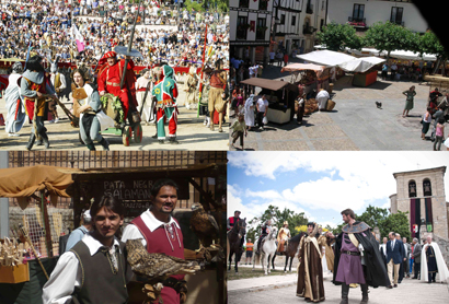 Durante el mes de julio se celebran multitud de fiestas medievales en el Camino del Cid