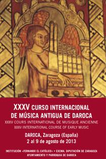 El Curso Internacional de Música Antigua de Daroca incluye la celebración de varios conciertos en diferentes enclaves de la localidad