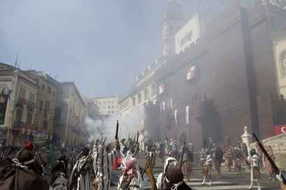Las fiestas de moros y cristianos de Ontinyent, de las más multitudinarias de las Comunidad Valenciana
