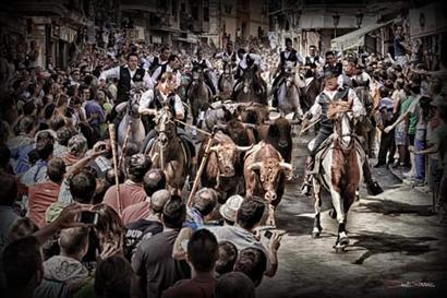 Segorbe celebra este mes la Entrada de Toros y Caballos (Imagen: David Torres)