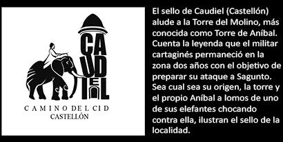 Sello de Caudiel, en la provincia de Castellón
