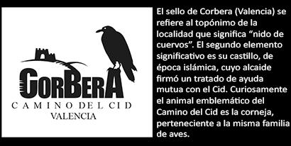 Sello de Corbera, en la provincia de Valencia