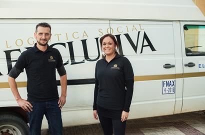 Hugo Muñoz y Victoria Tortosa, gerentes de La Exclusiva