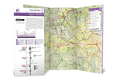 Editamos diez nuevas guías cicloturistas del Camino del Cid