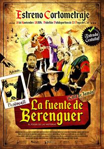 Cartel del corto La Fuente de Berenguer
