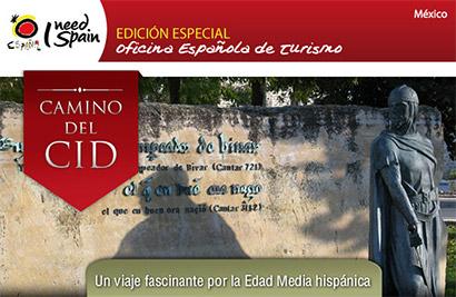 Boletín México Camino del Cid