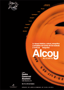 Cartel de la exposición fotográfica del Camino del Cid que viaja en octubre a Alcoy, en Alicante